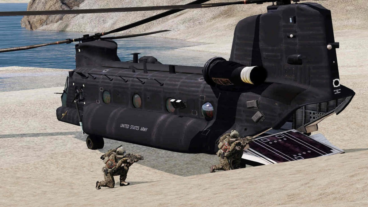 ArmA 4 CH-47E Chinook