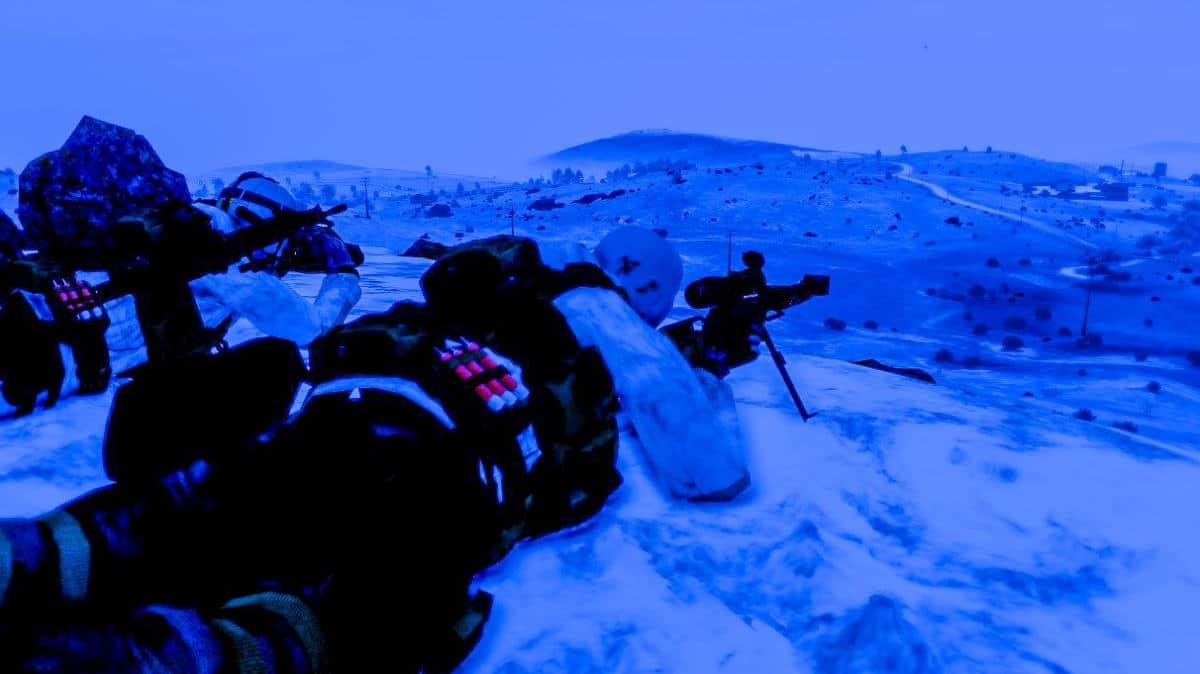 ArmA 3 Winter Sniper