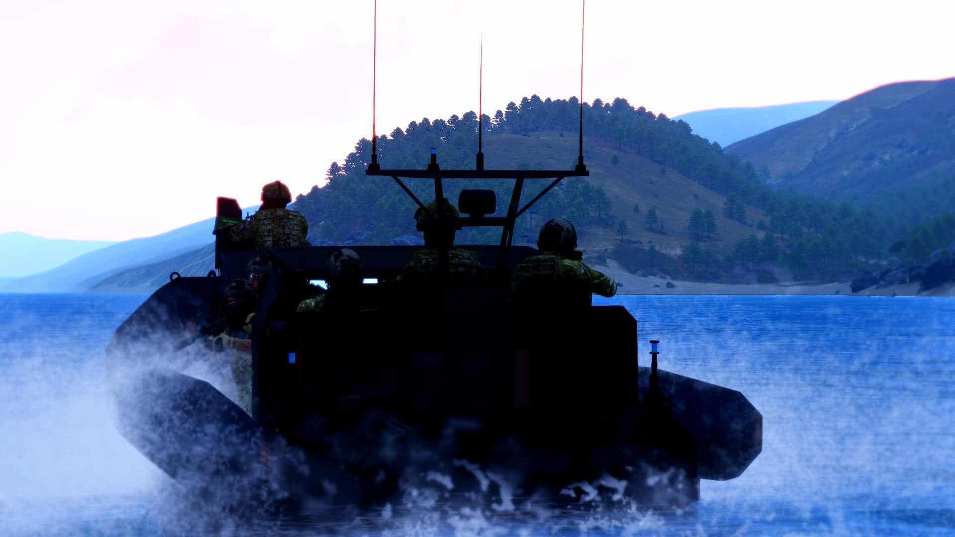 Arma 3 boat