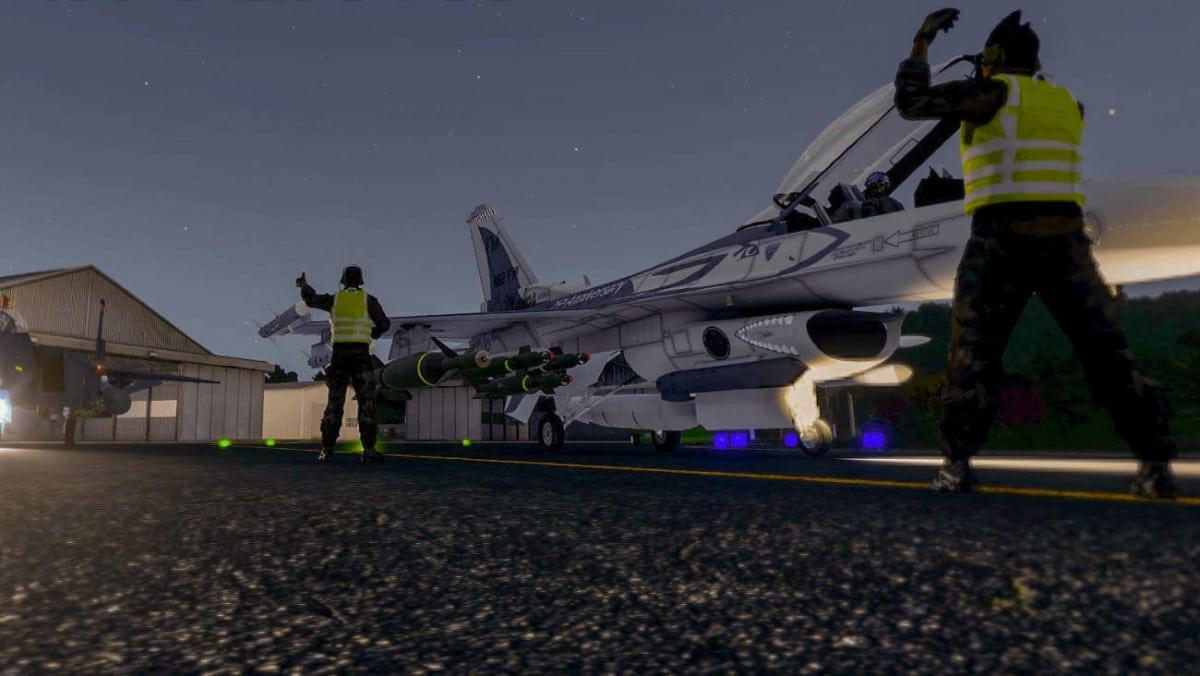 Arma 3 F-16