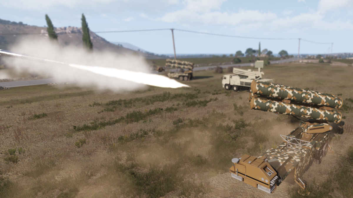Arma 3 SAM Missile