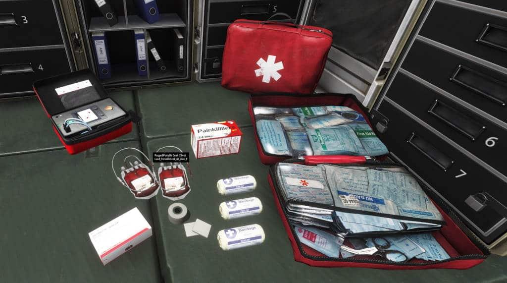 Arma 3 ACE Advanced Medic system