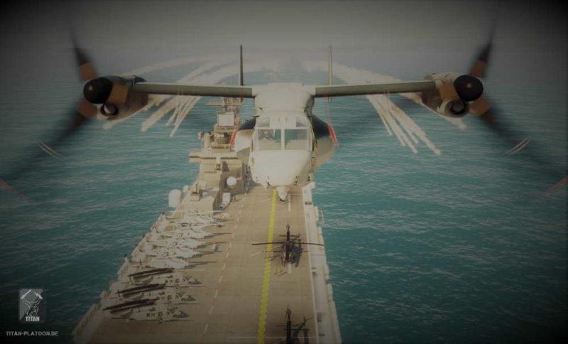 Arma 4 jet plane osprey
