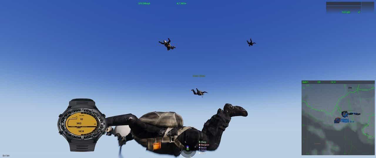Arma 3 parajumping
