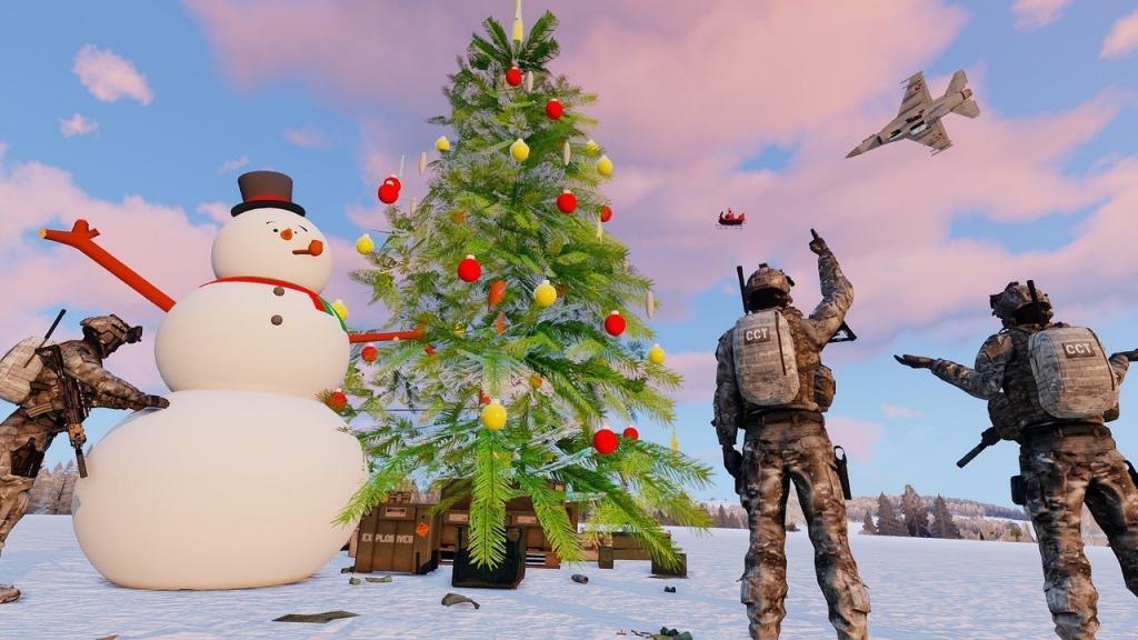 Arma 3 winter christmas