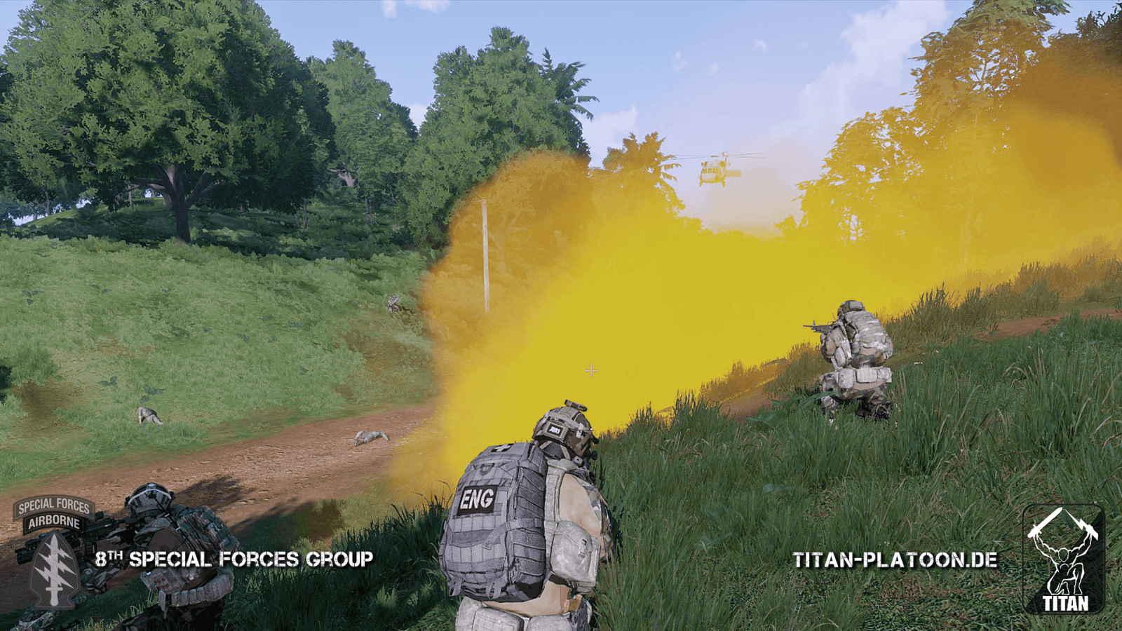 Arma 3 smoke granate