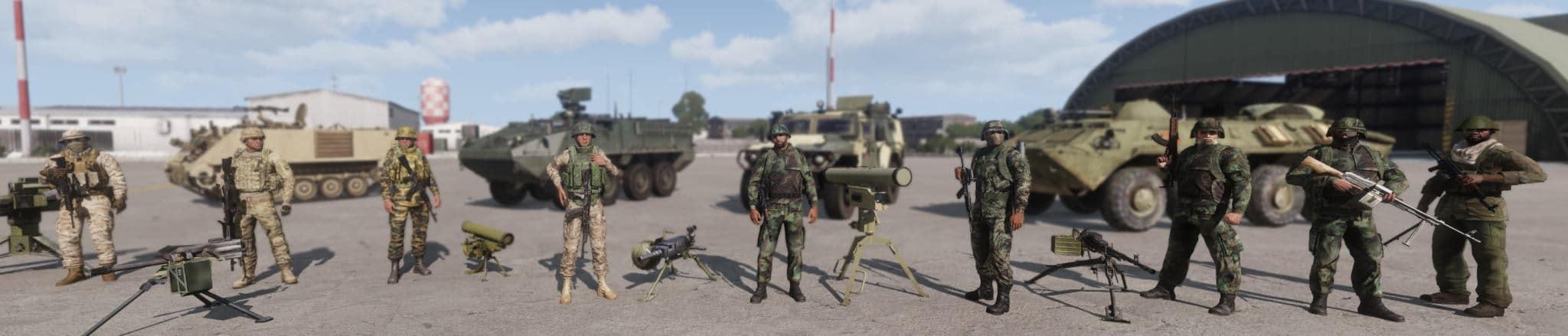 Infanterie - ArmA 3 - RHS - CUP