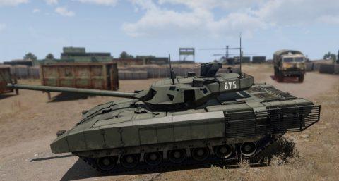 T-14 Russian TANK RHS
