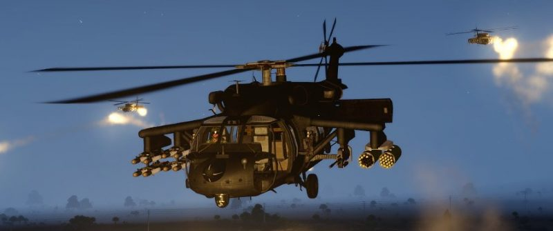 Arma 3 DAP Helicopter