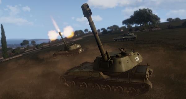 Arma 3 2S3M1