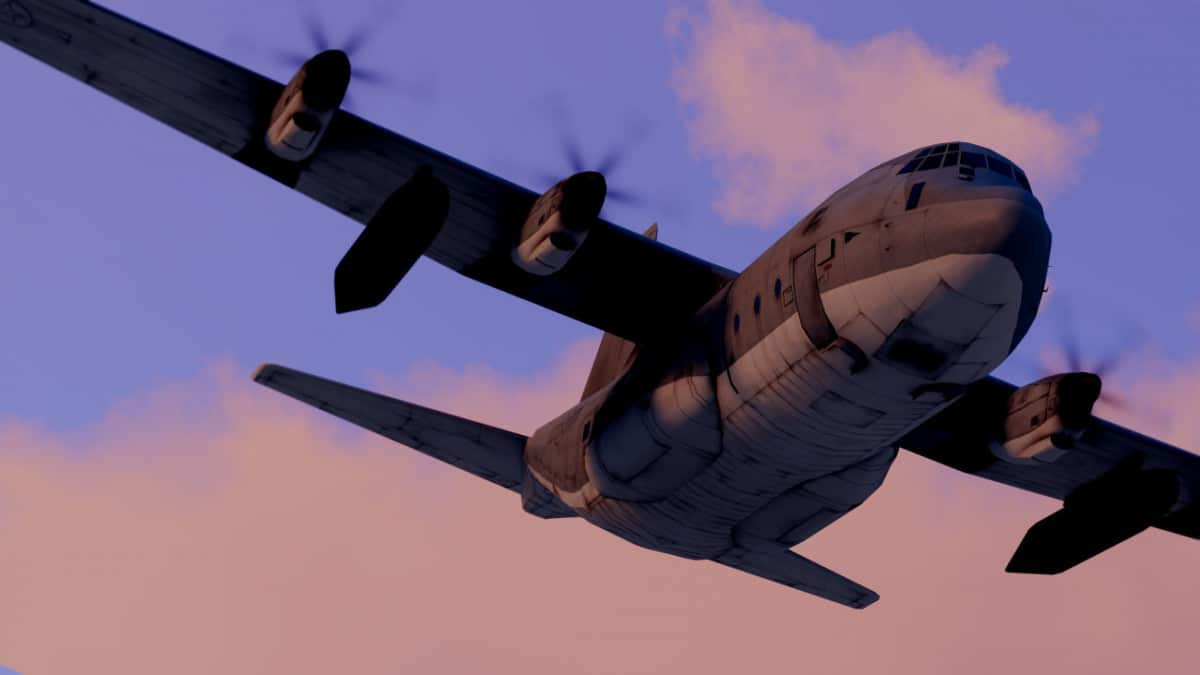 ArmA 3 C-130j Transport