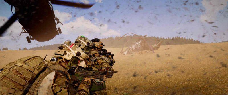 ArmA 3 Rescue Operations CSAR Blackhawk YAX