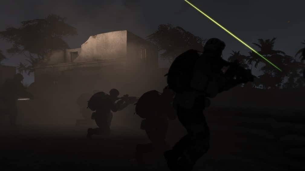 ArmA 3 Firefight Night