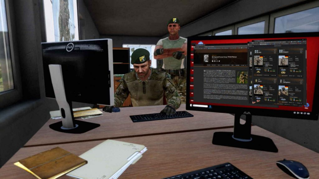 ArmA 3 Clan Milsim Officer