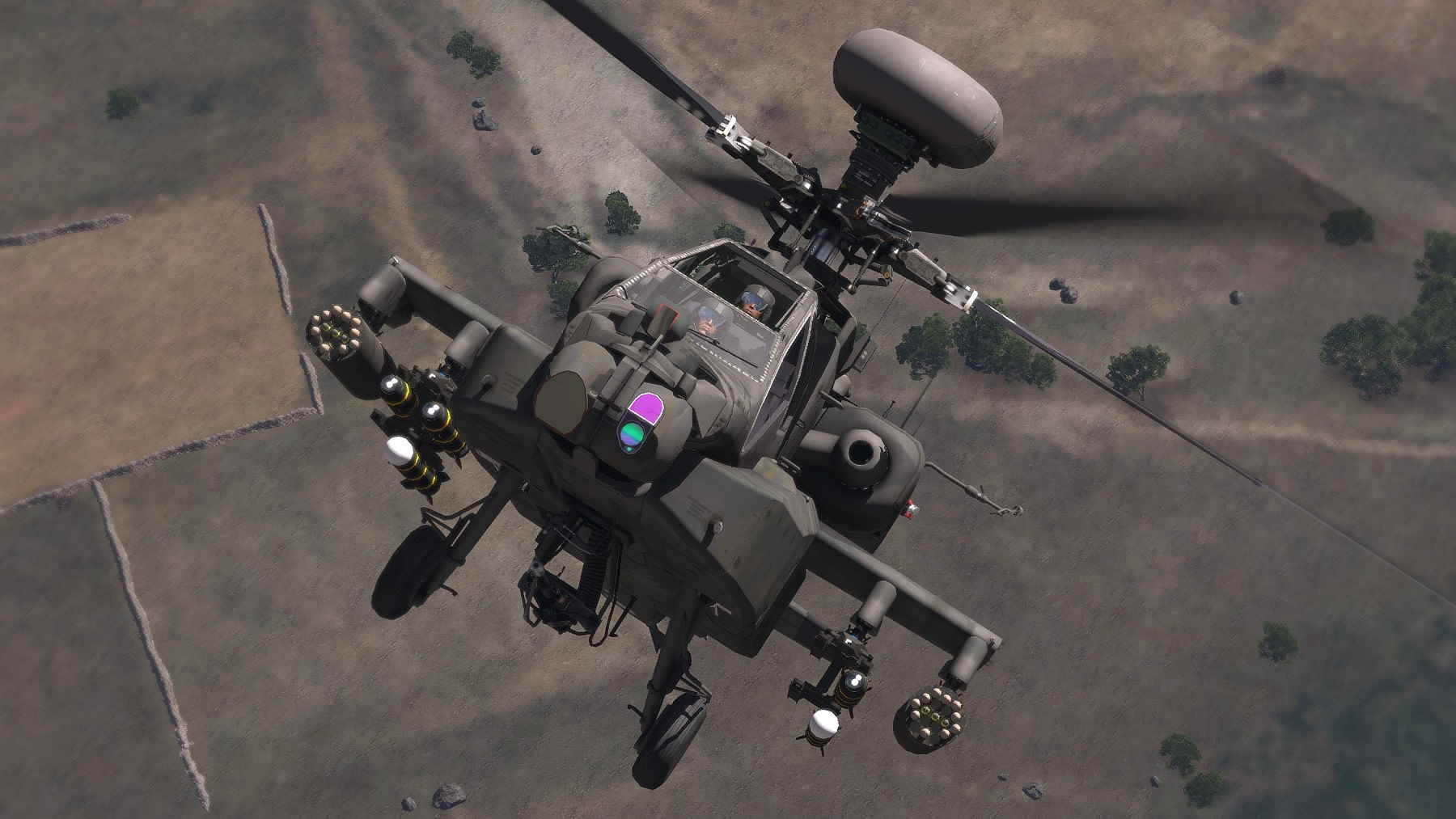 Arma 3 Apache Ah-64 Longbow