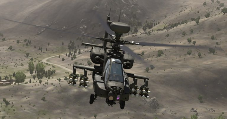 ArmA 3 Ah-64 Apache