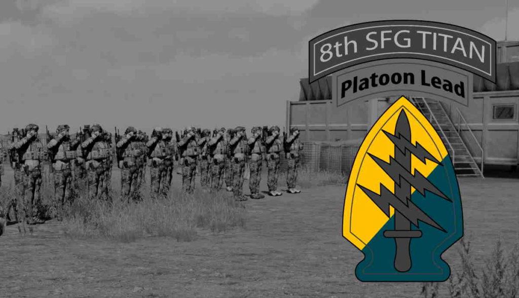 ArmA 3 8th SFG Platoon Lead