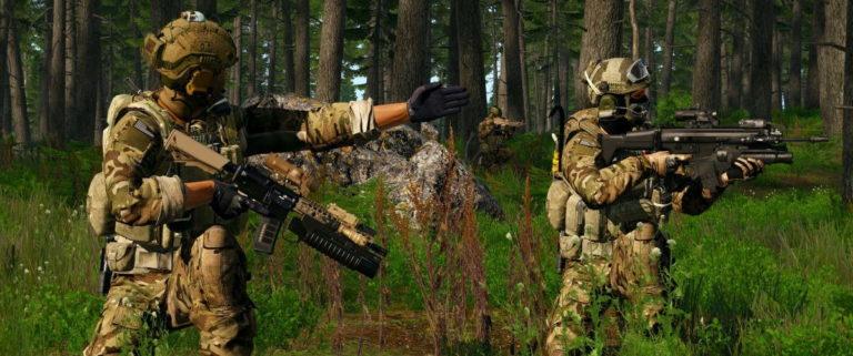 Arma 3 squad order fireteam