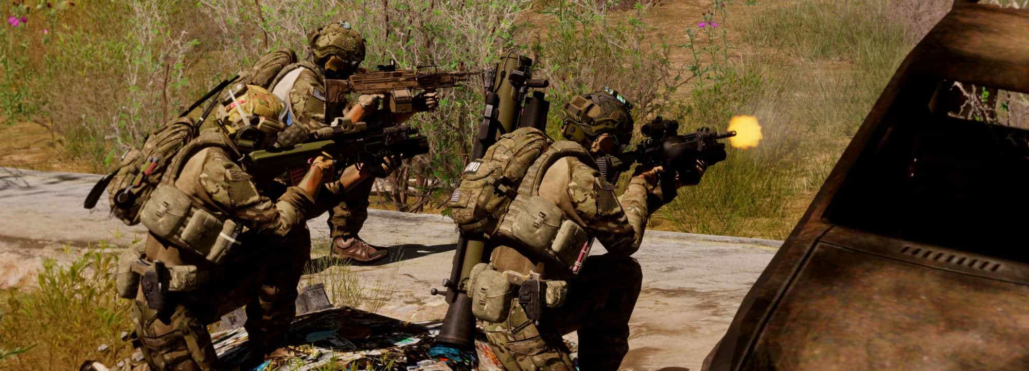 Arma 3 Fireteam movement