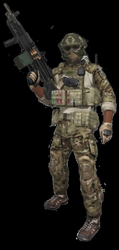 Arma 3 machine gunner