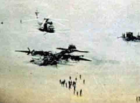 ArmA 3 Clan MilSim - Eagle Claw wrecks at Desert One April 1980