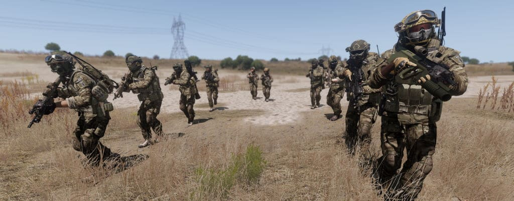 arma r squad formationen