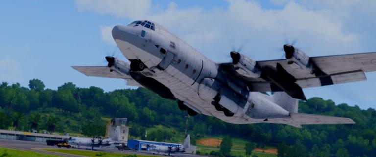 C-130 Take off