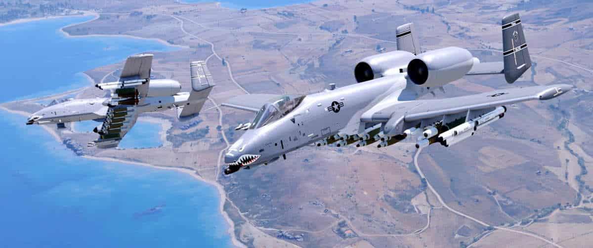 Arma 3 A-10 Thunderbold