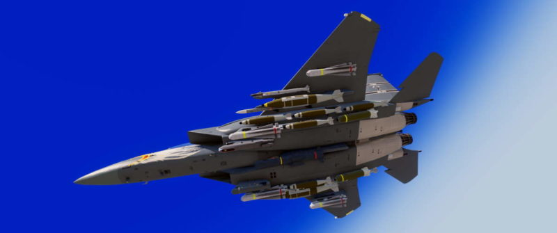 Arma 3 F-15 Strike Eagle