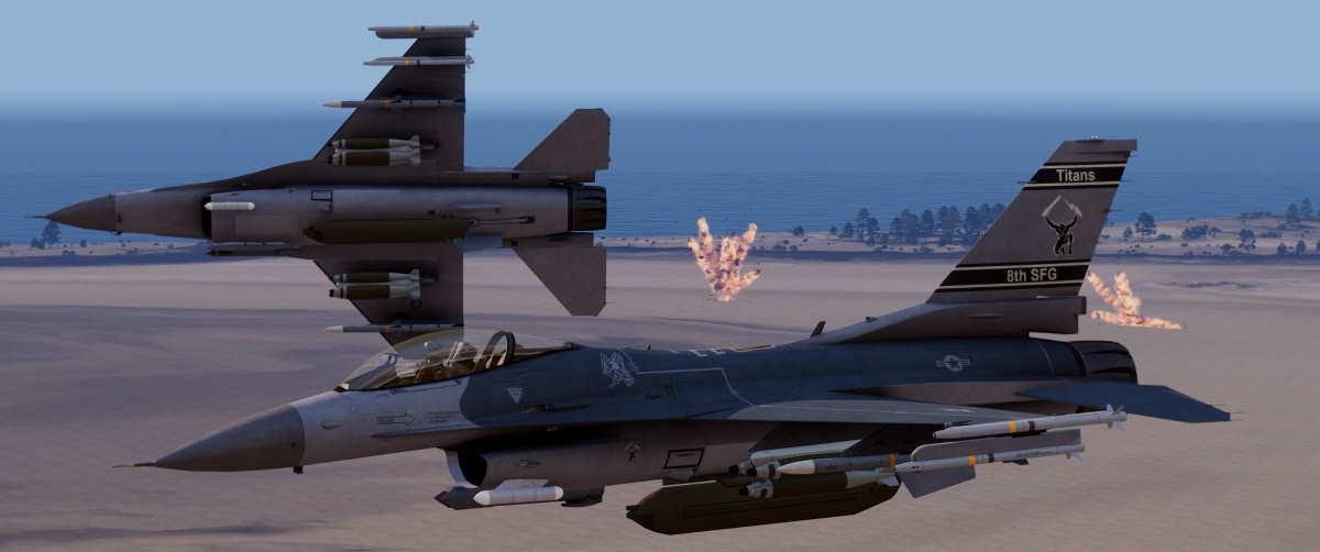 Arma 3 F-16 Fighting Falcon
