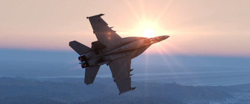 Arma 3 F-18 Hornet
