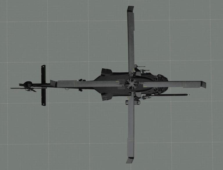 MH-60k Blackhwak DAP