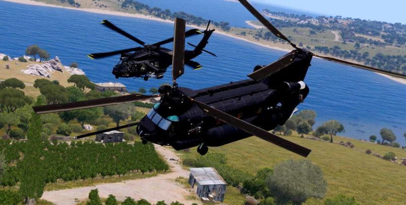 Arma 3 MH47 Chinook SOAR 160