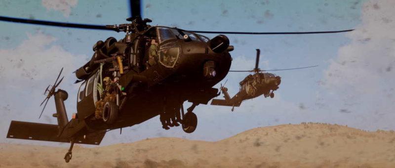 ArmA 3 Blackhawk Yax UH-60