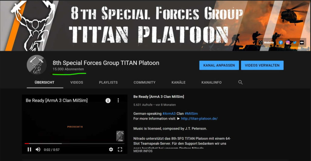 Arma 3 Clan YouTube MilSim Unit