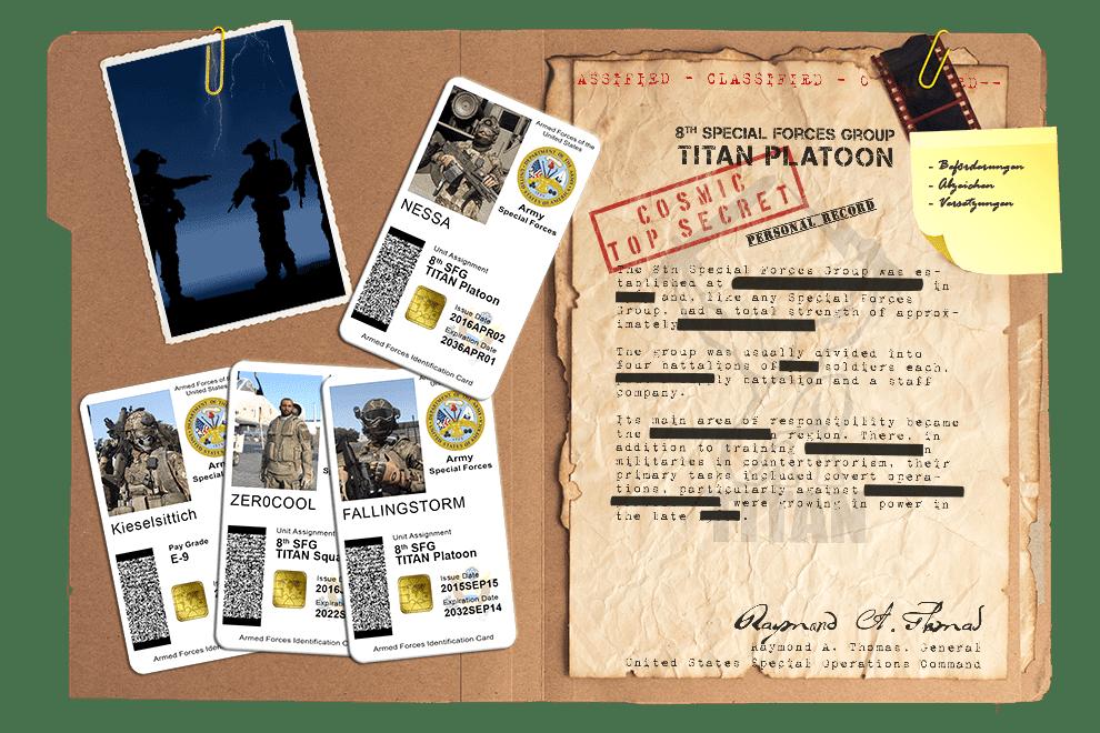 Arma 3 Clan Titan Platoon Review